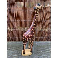 Giraffe aus Olivenholz