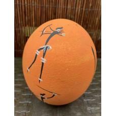 Bushman Style Ostrich Egg