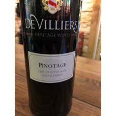 De Villers Pinotage 2019